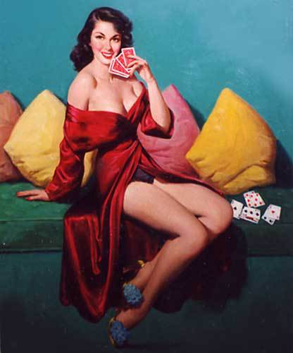 I Deal - by Art Frahm - Original & Print Available