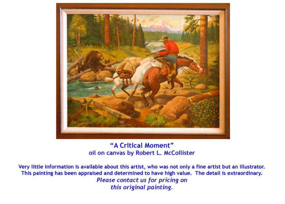 Critical Moment by Robert L. McCollister - for sale